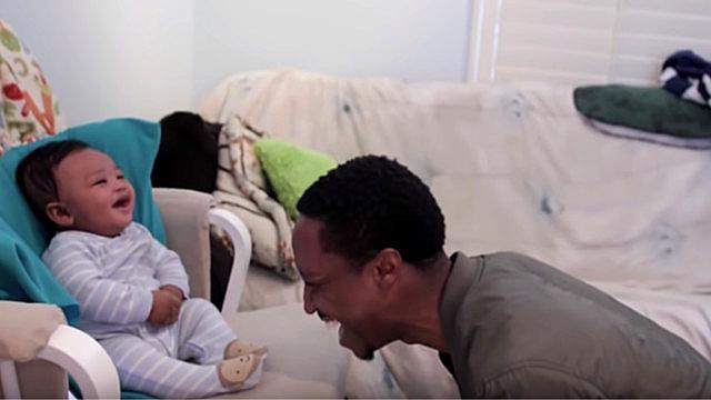 Dad Loses Rap Battle With Infant Son