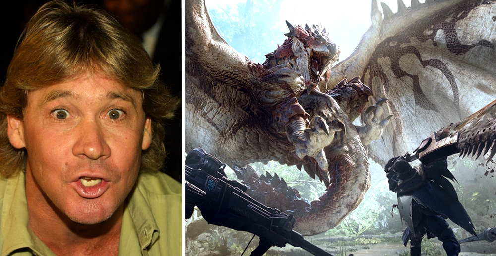 Steve Irwin Narrates Video Game