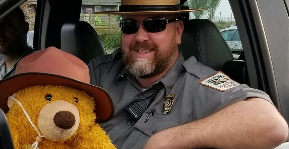 Lost Teddy Goes on an Adventure