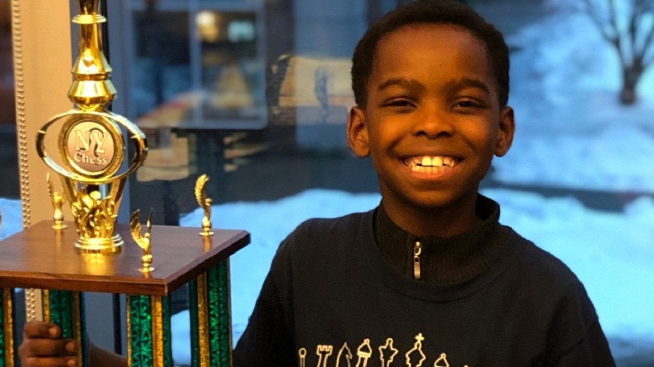 8-Yr-Old Homeless Boy Wins New York Chess Tournament