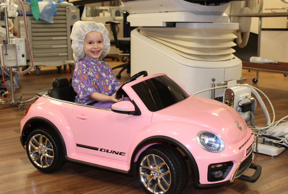 Hospital Lets Kids Drive Mini-Cars to Surgery to Reduce Anxiety