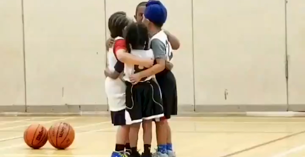 Youth Team Hugs it Out
