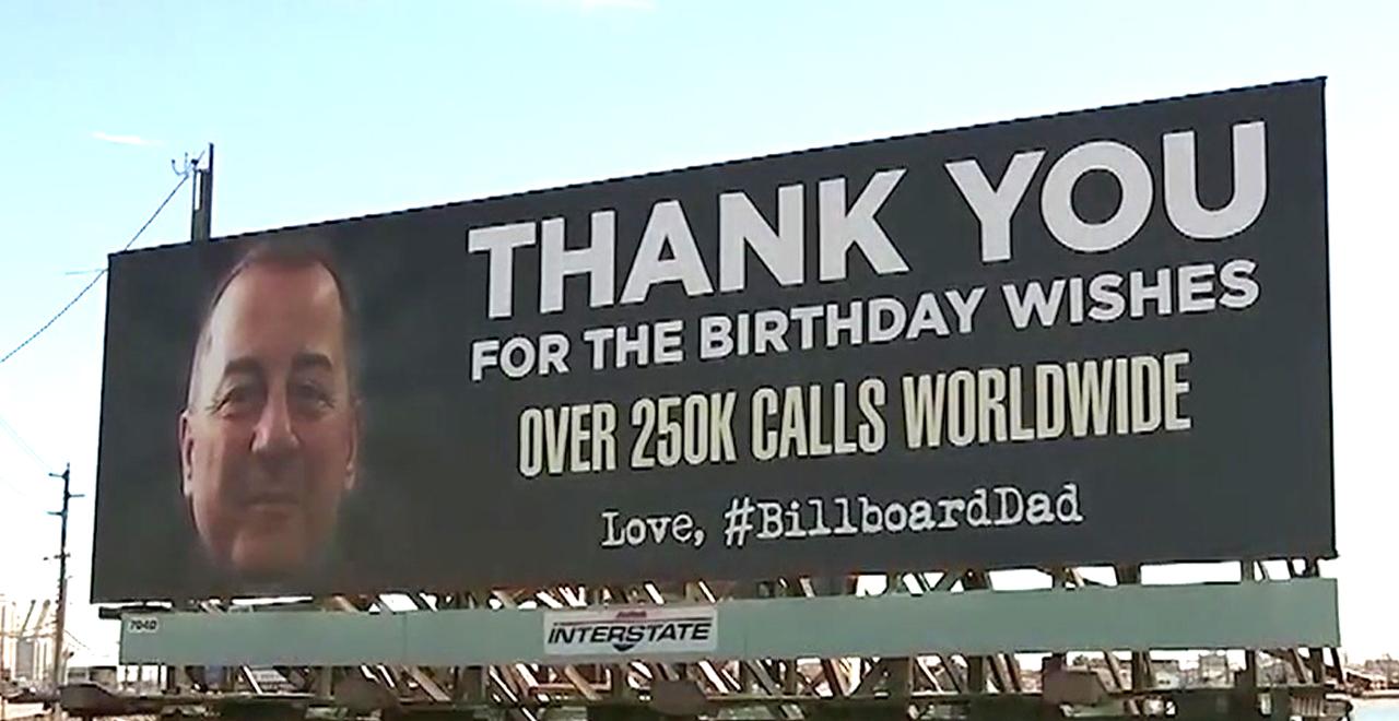 Billboarddad Says Thanks