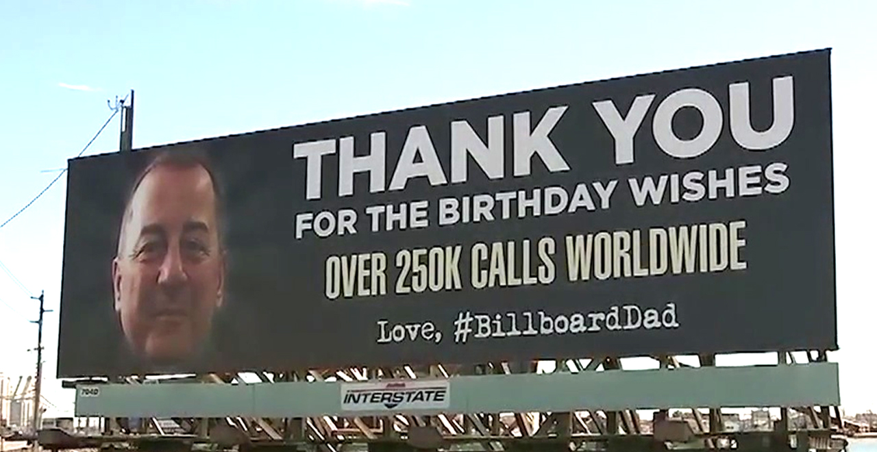 Billboarddad Says Thanks