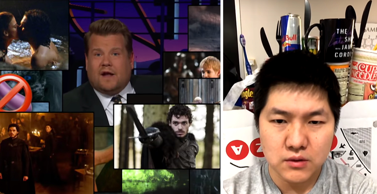 Corden Recaps GoT