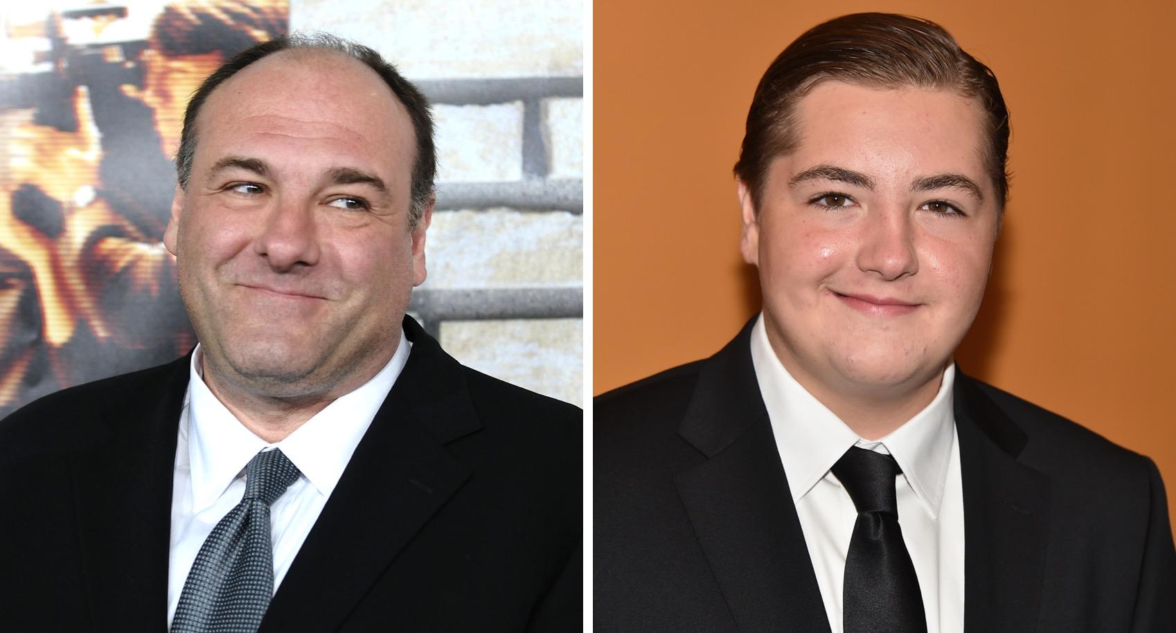 James Gandolfini's Son Looks Just Like Him in Soprano's Prequel Film