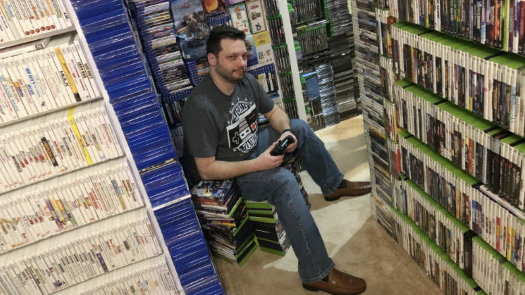 Guinness Record for Largest Video Game Collection Took 8 Days to Count