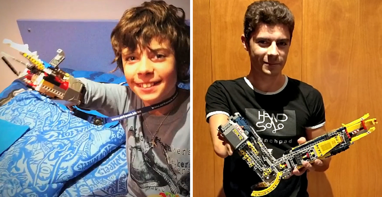 Hand Solo Makes Limbs out of Lego