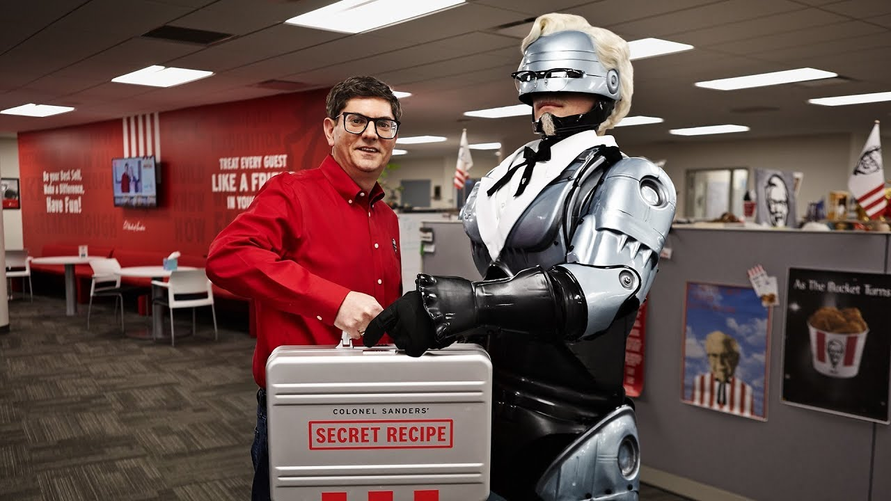 Robocop's New Prime Directive: Protect KFC's Secret Recipe