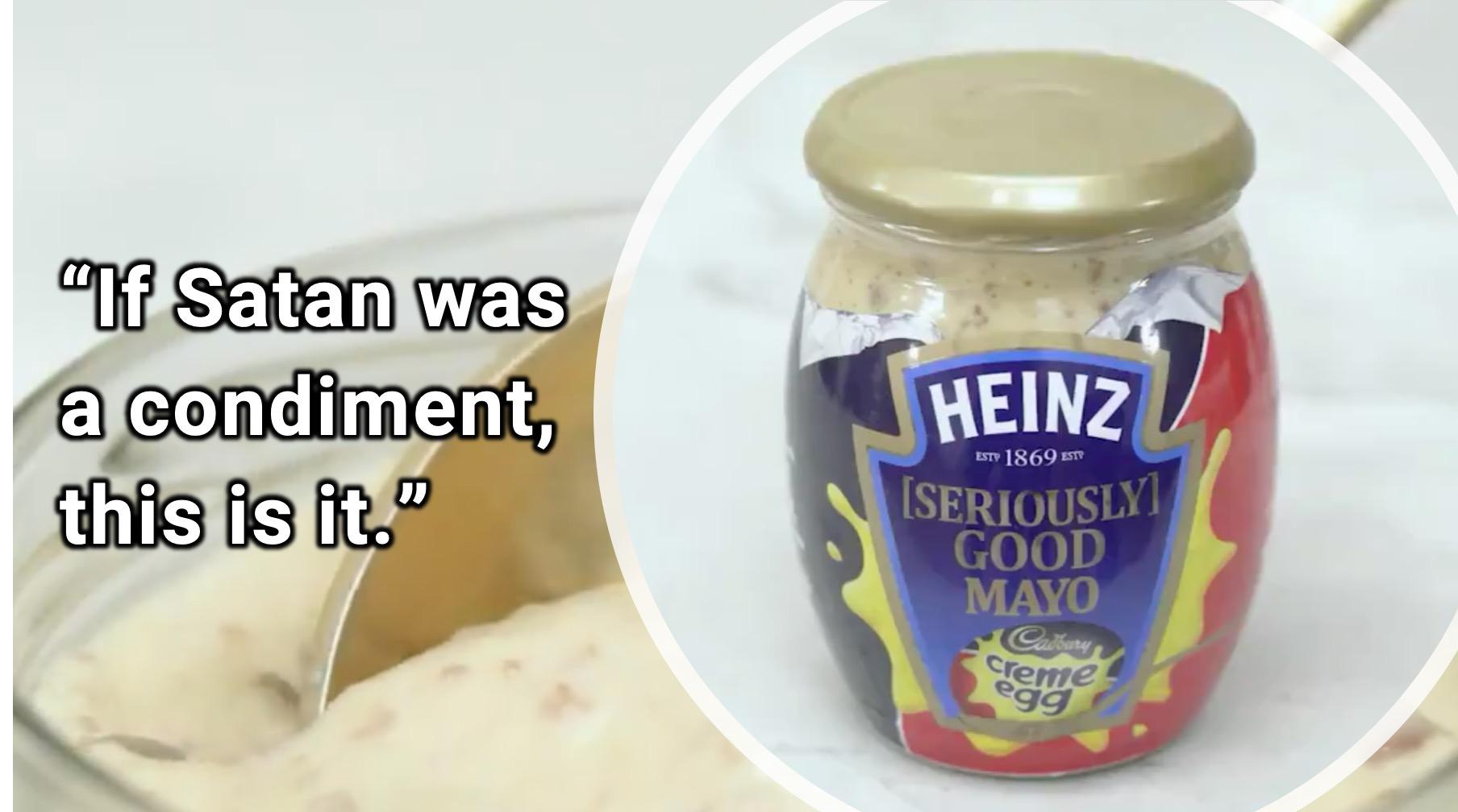 Cadbury Creme Egg-Flavored Mayonnaise Exists Now, Unfortunately