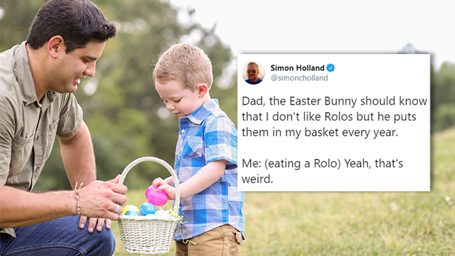 Tweet Roundup: The Funniest Tweets About Spending Easter With Kids