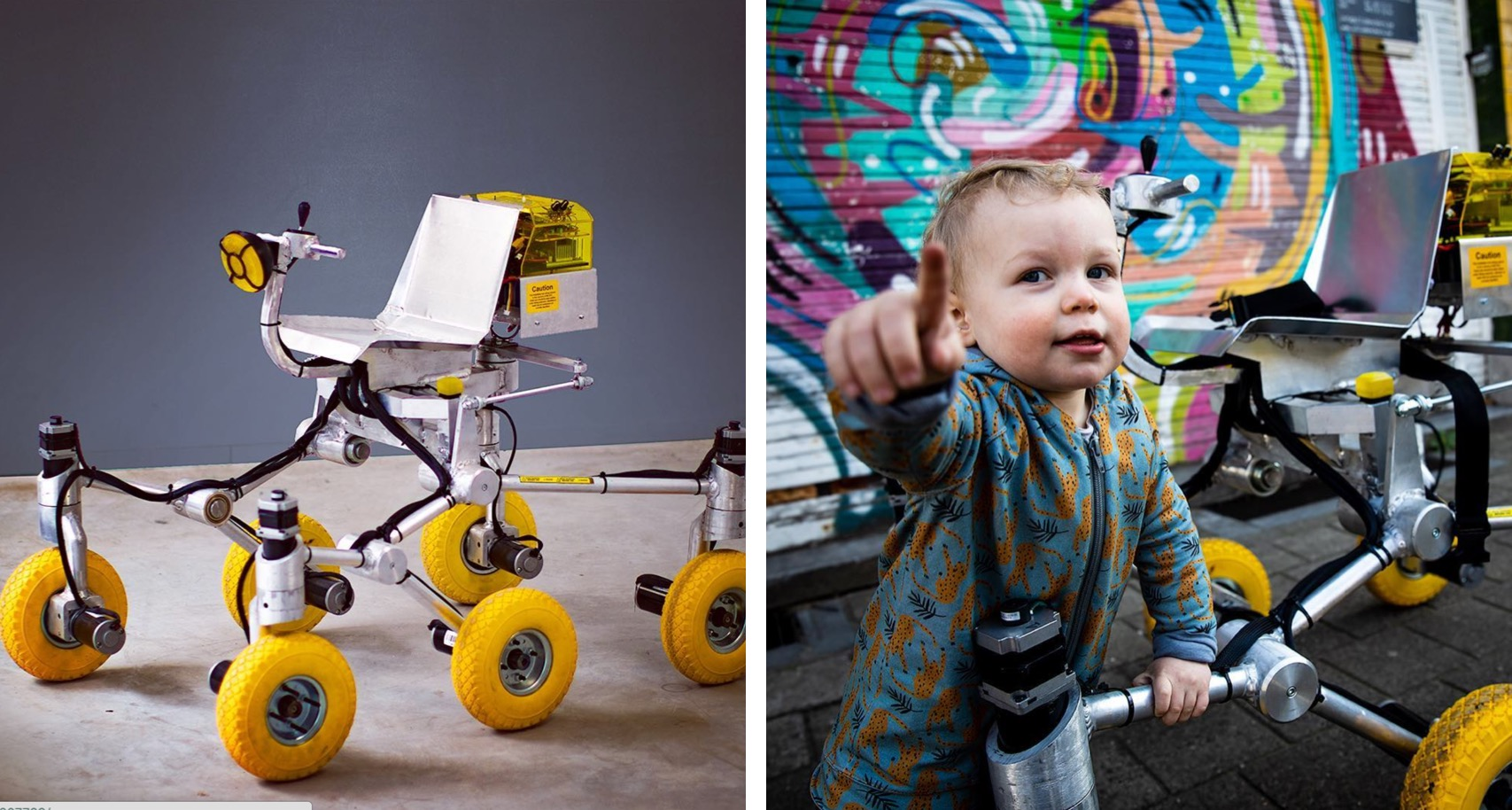 Houston, This Dad Just Built A Drivable Mars Rover For His Son. Over. [WATCH]