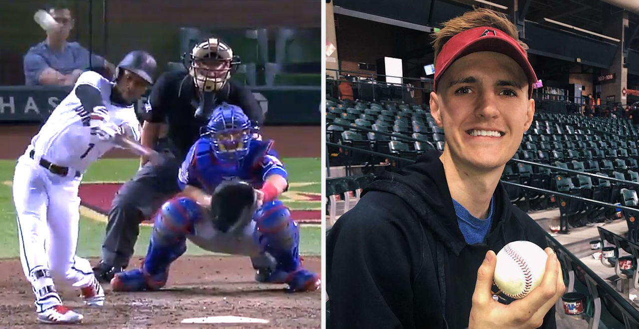 Grieving Son Catches Walk-Off Homer
