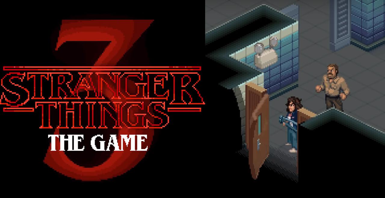 Stranger Things 8-Bit Game