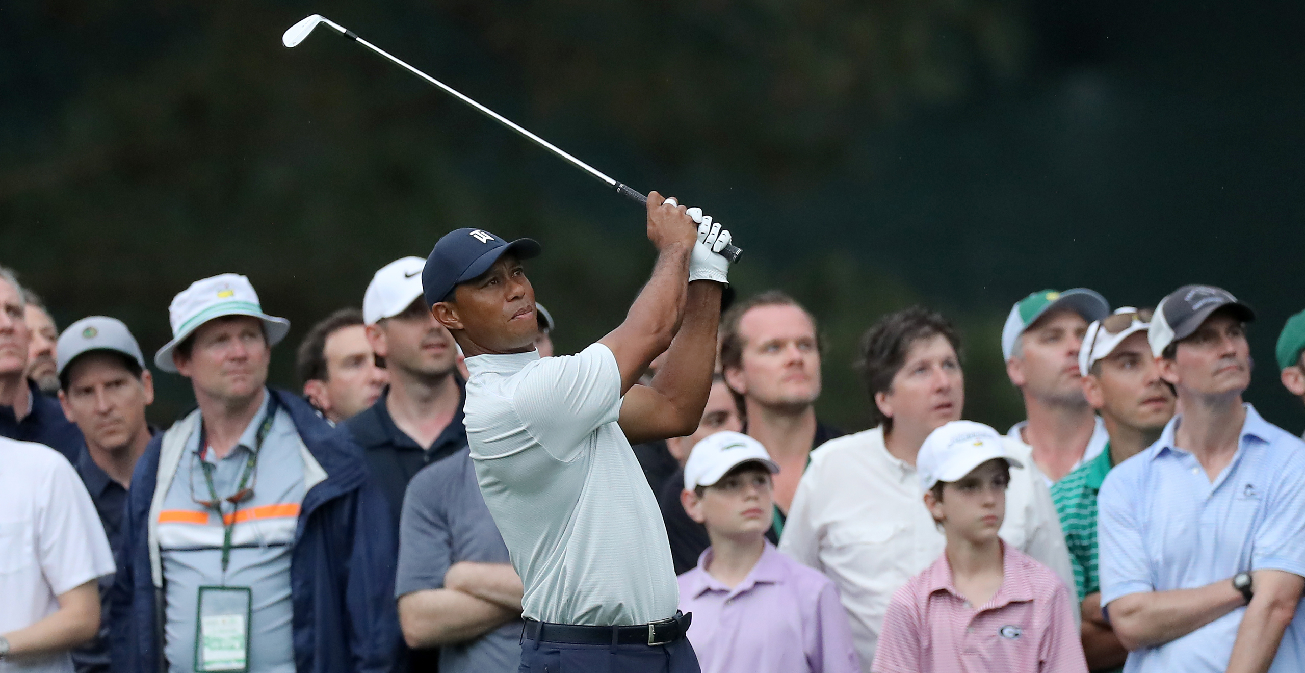 Tiger at The Masters