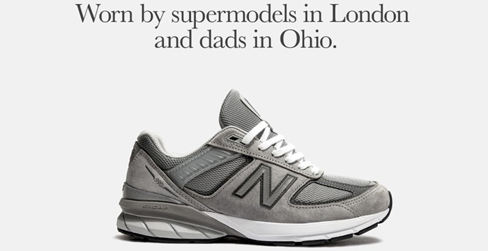 New Balance's Original Dad Shoe