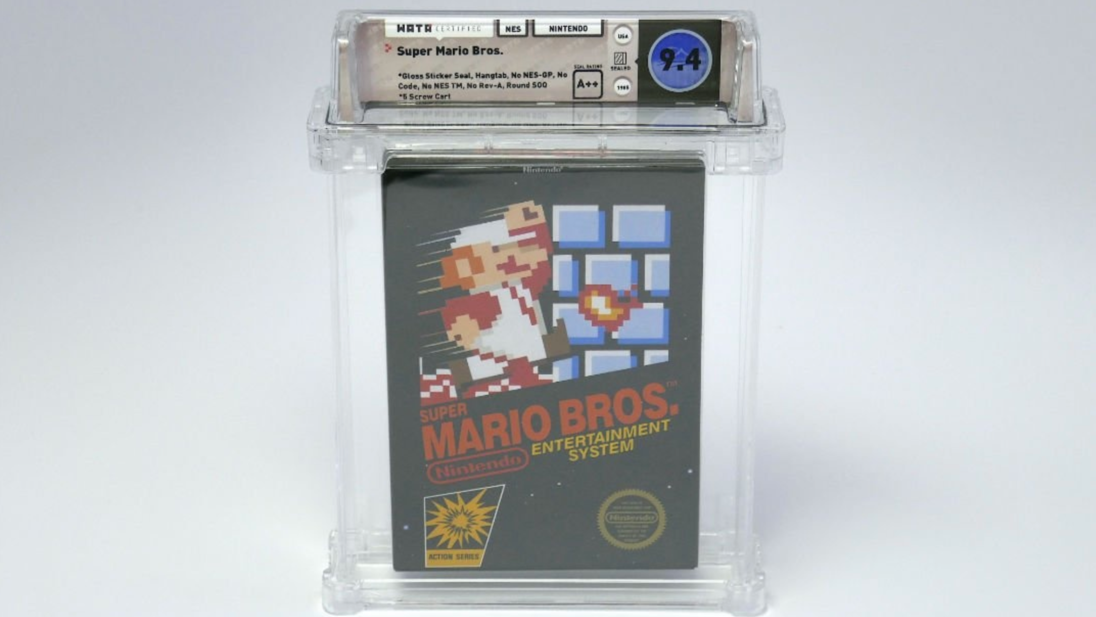 This Rare Copy of Super Mario Bros. Just Sold for $100,000