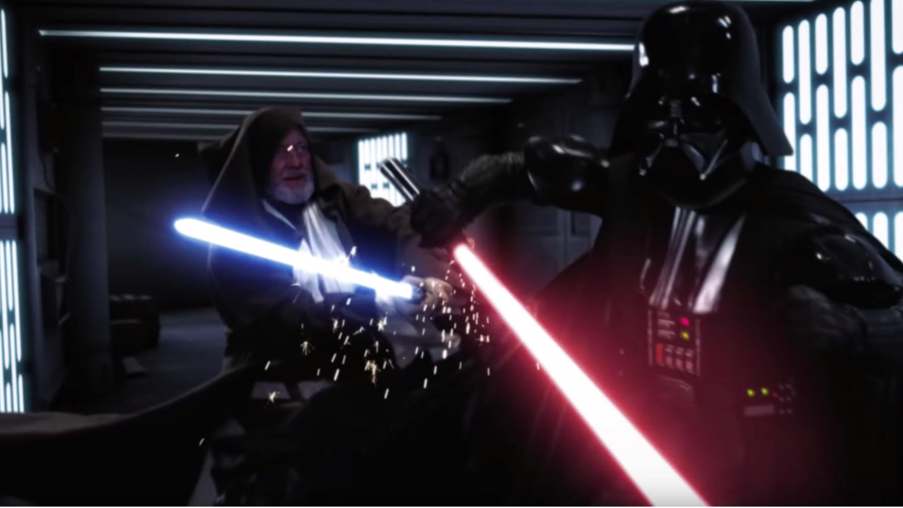 Re-Imagined Obi-Wan vs Darth Scene Is the Duel We Deserve