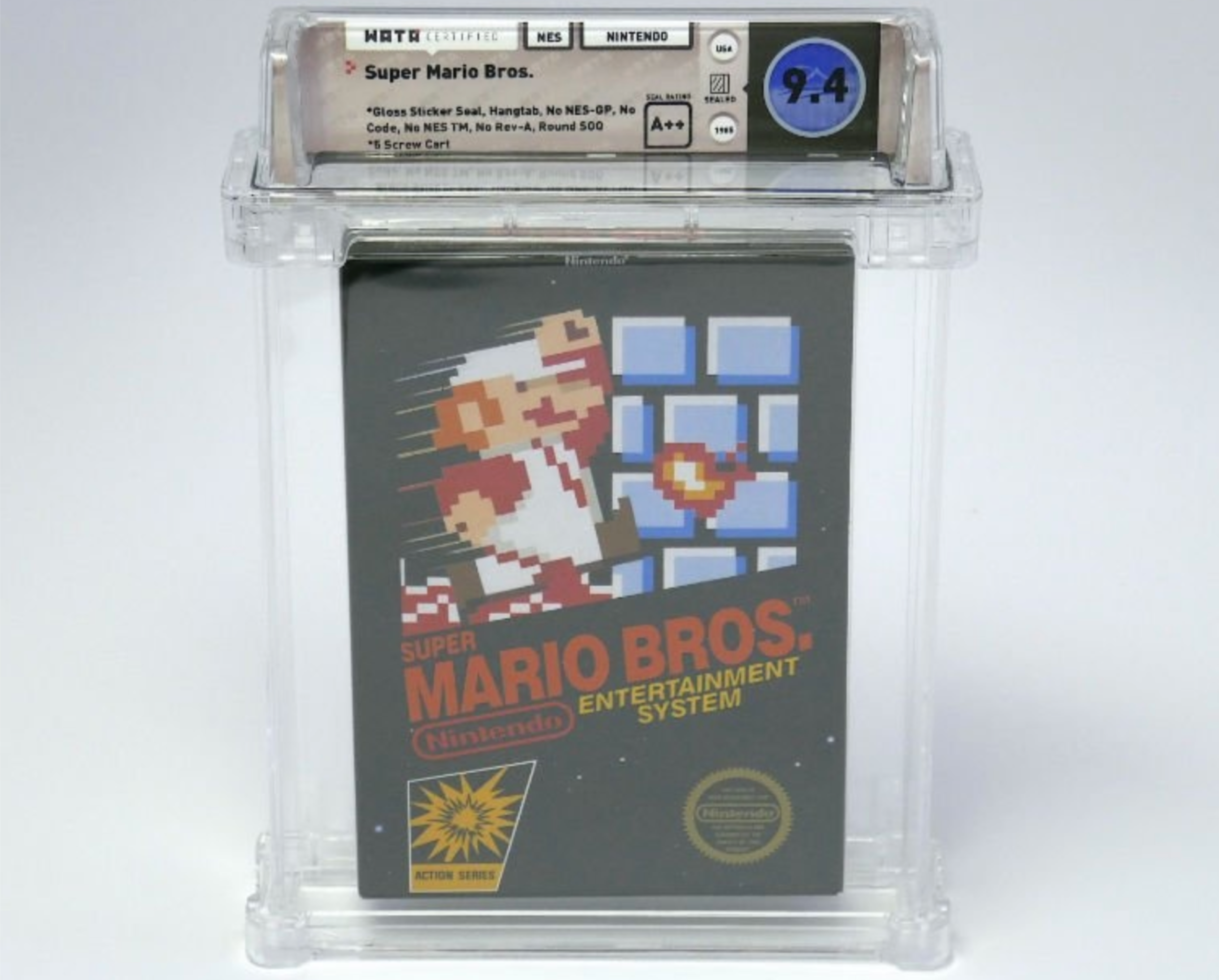 This Rare Copy of Super Mario Bros  Just Sold for $100,000