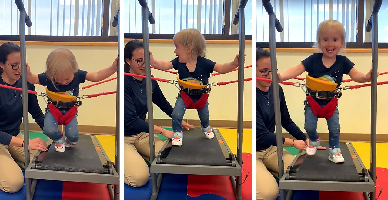 """Baby Shark"" Helps Little Girl Power Through Spina Bifida"