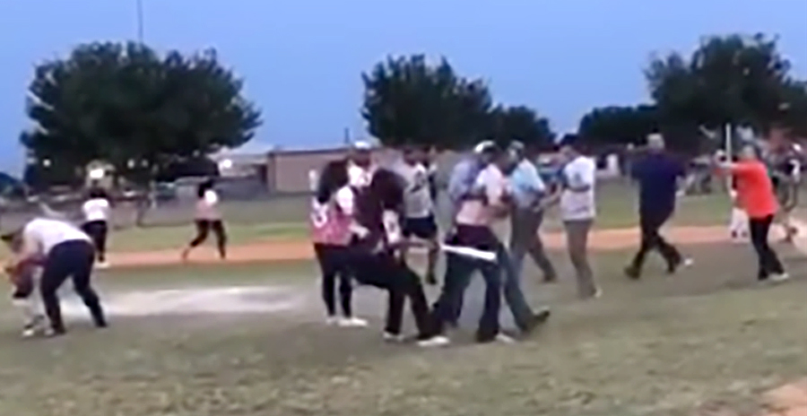 Parents Brawl at Little League Game