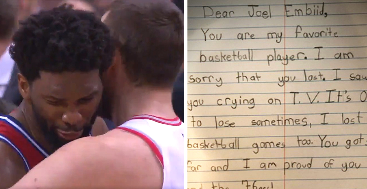 9-Yr-Old Consoles Joel Embiid