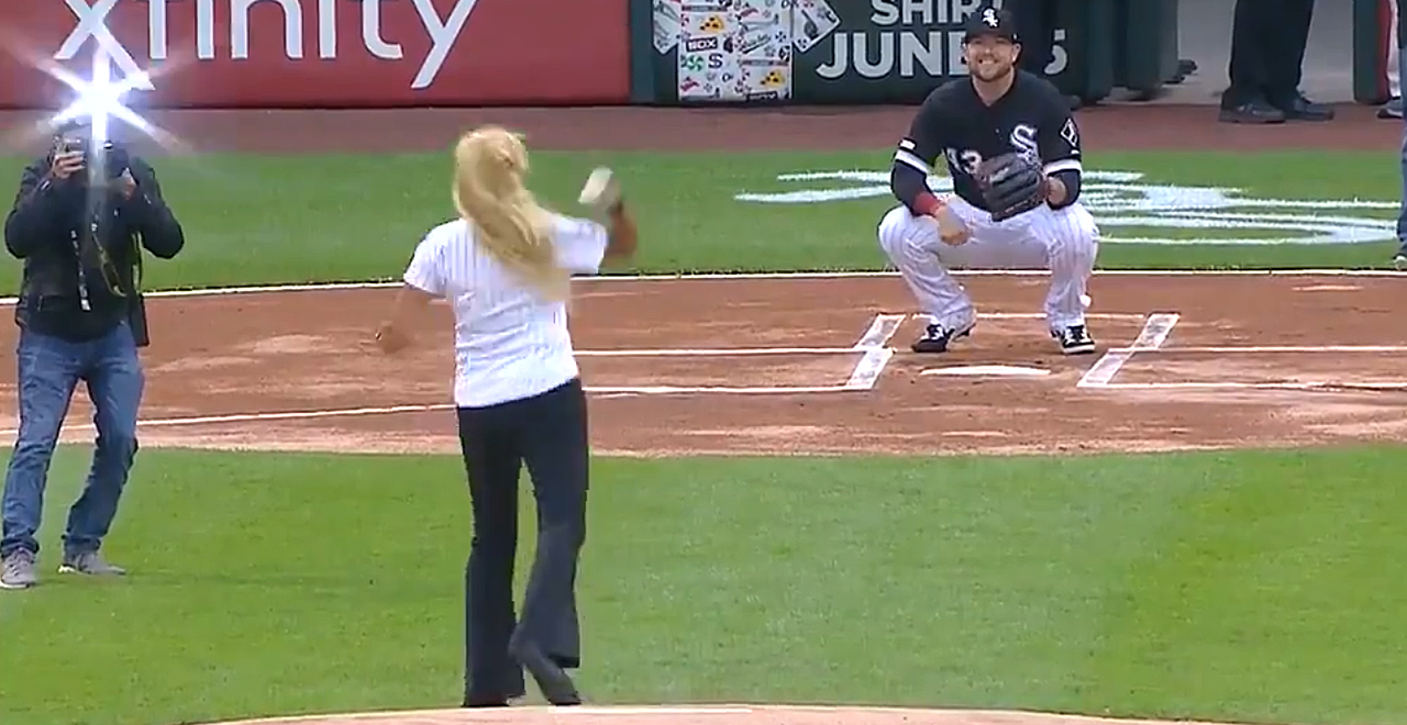 First Pitch Goes Wrong