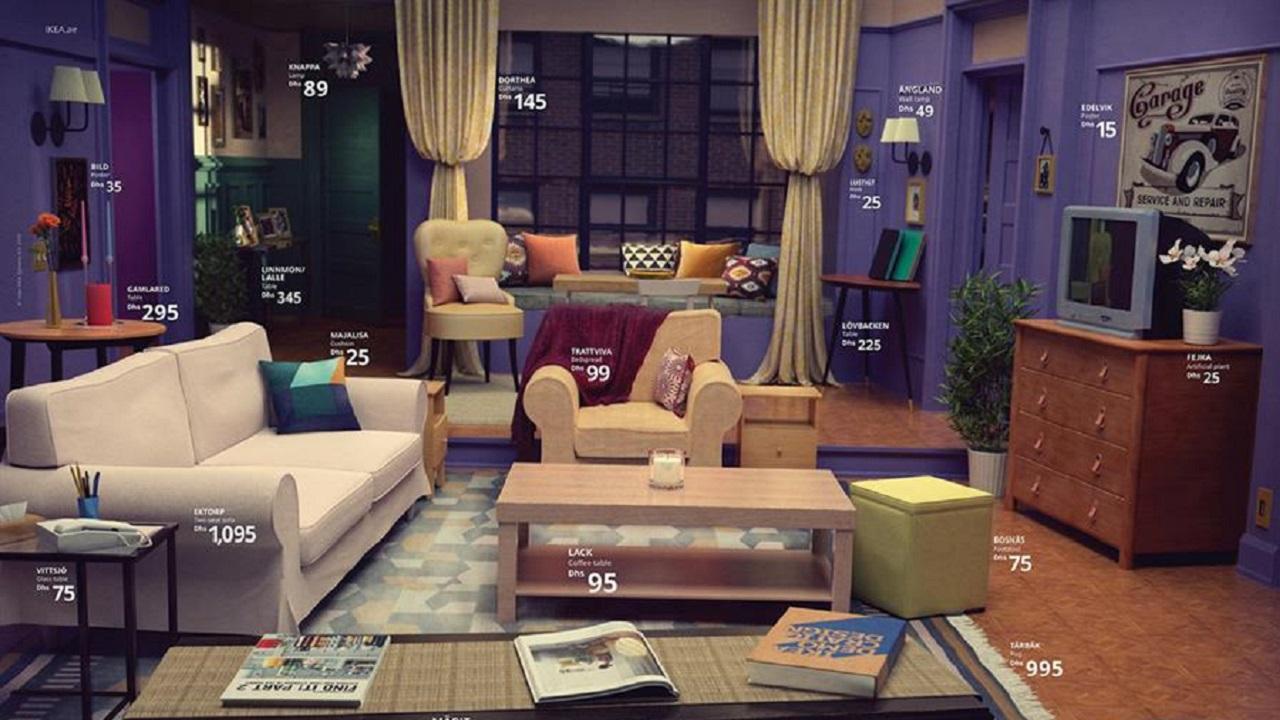 IKEA Recreates Famous Rooms