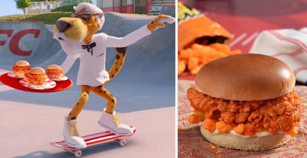 KFC and Cheetos Create Menu
