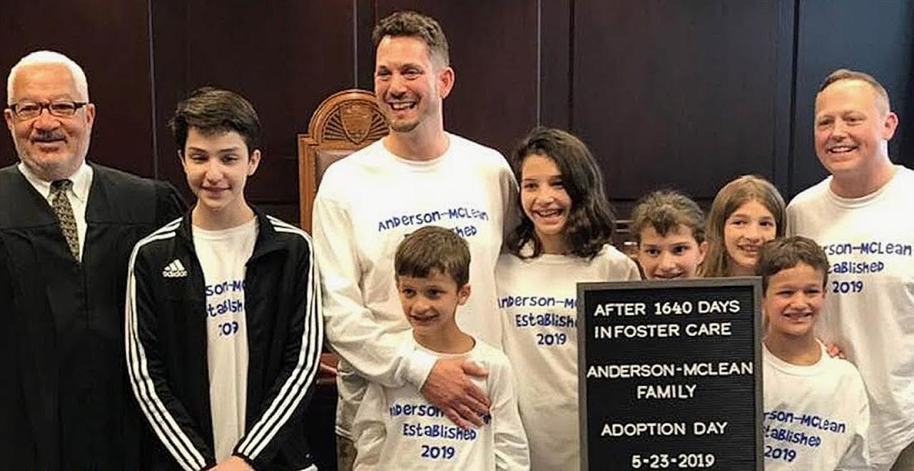 Dads Adopt 6 Kids