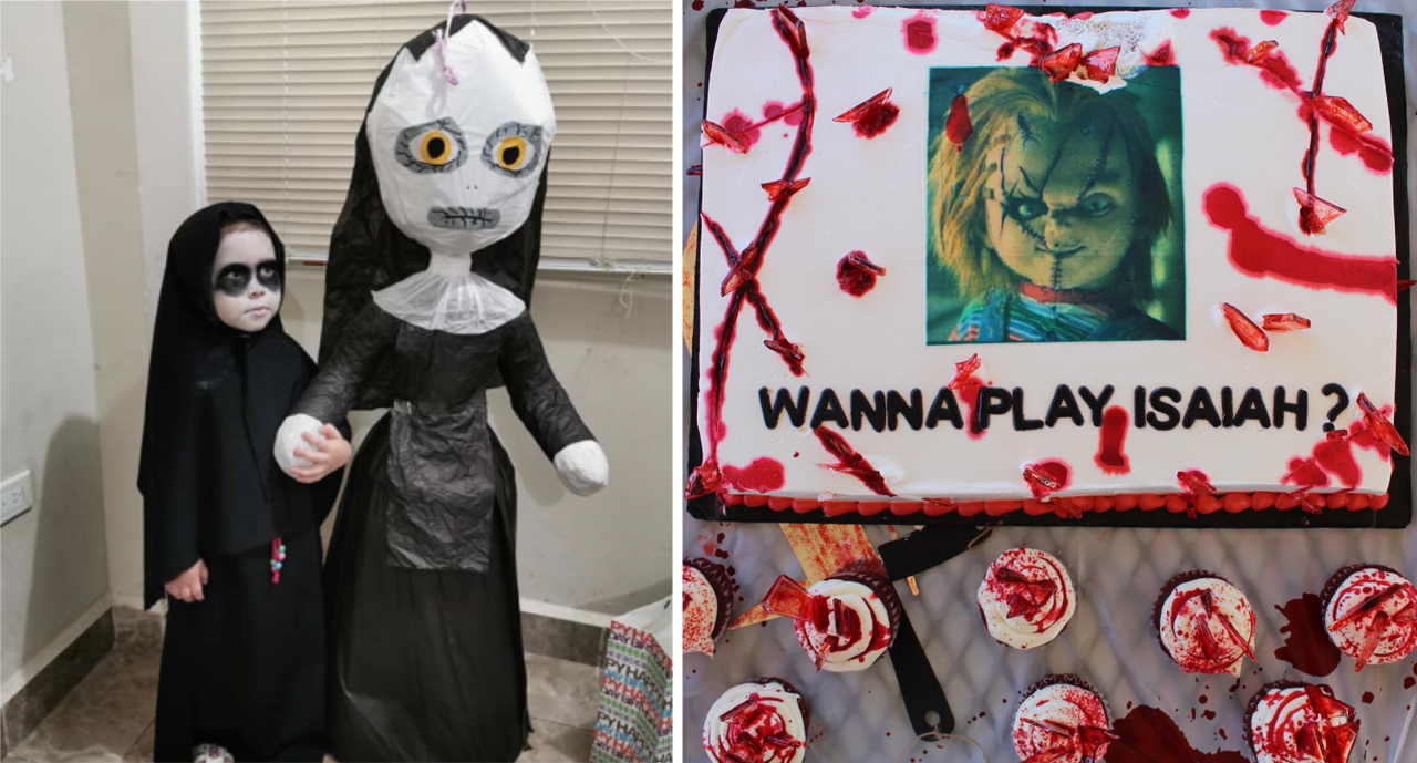 Horror Themed Birthday Parties for Children