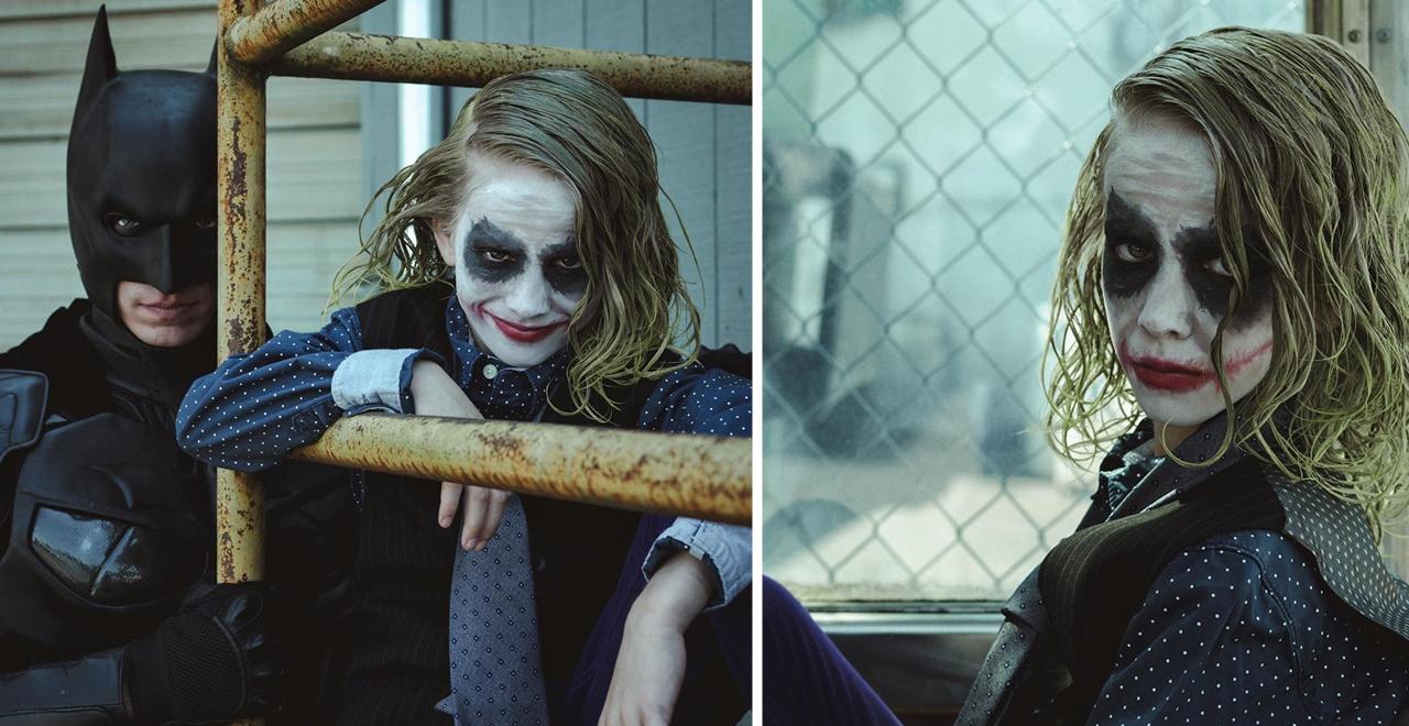 Photographer Turns Bullied Boy into Joker
