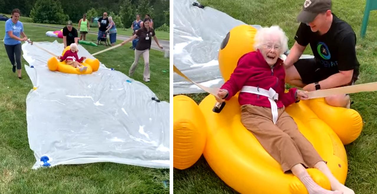 Nursing Home Slip N Slide