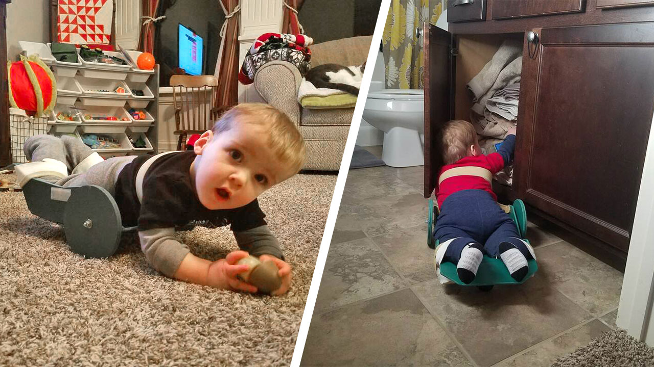 Mobility Device for Toddler with Spina Bifiida