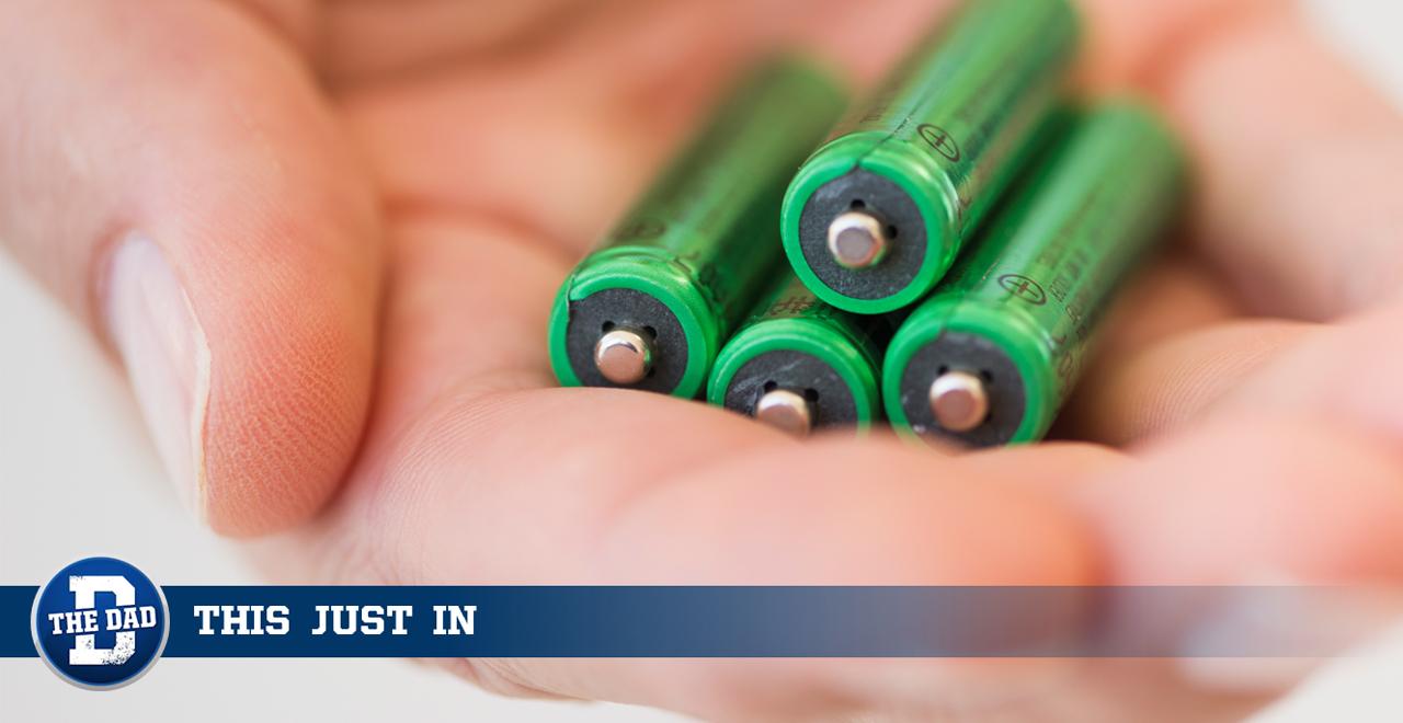 Dead Batteries in Stud Finder