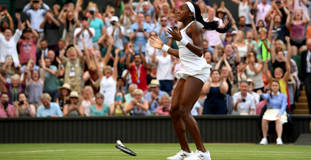 Coco Gauff Serves up an Untouchable Week