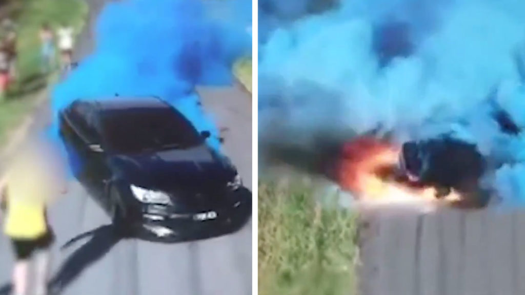 Australia Dad's Gender Reveal Burnout Ends in Flames and Fines