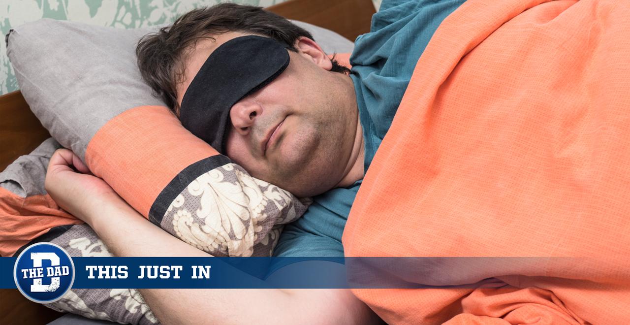 Hungover Dad Sleeping During Hide N Seek