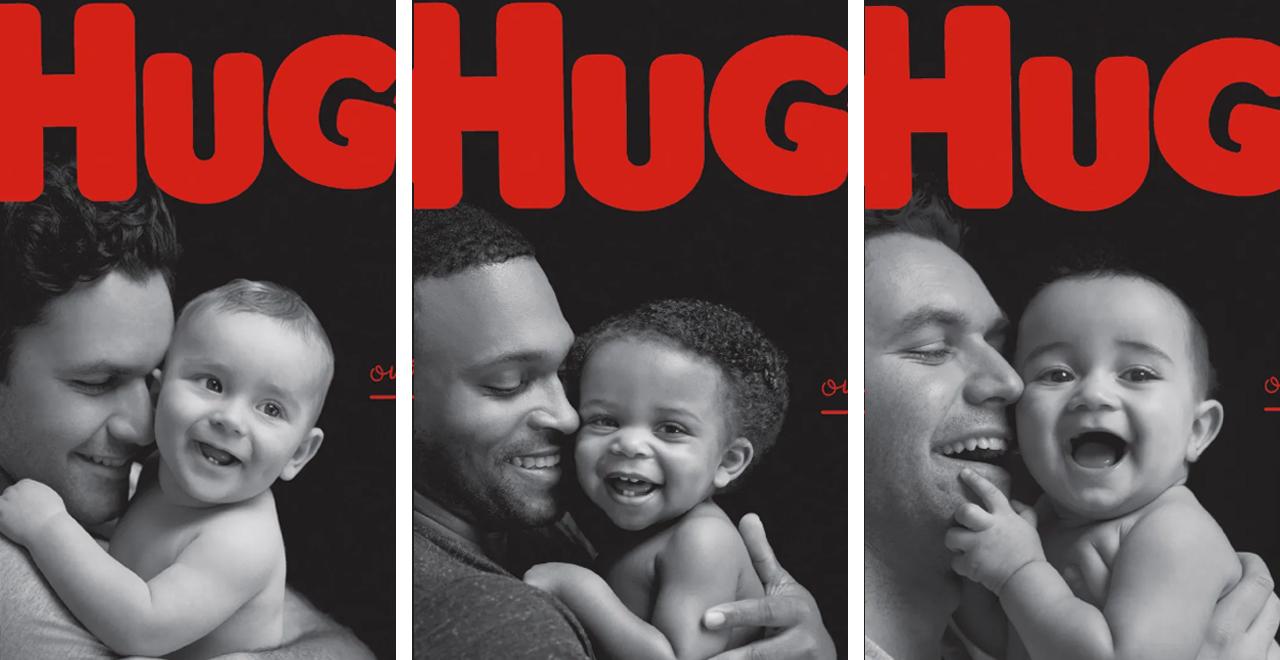 Dads on Huggies Box