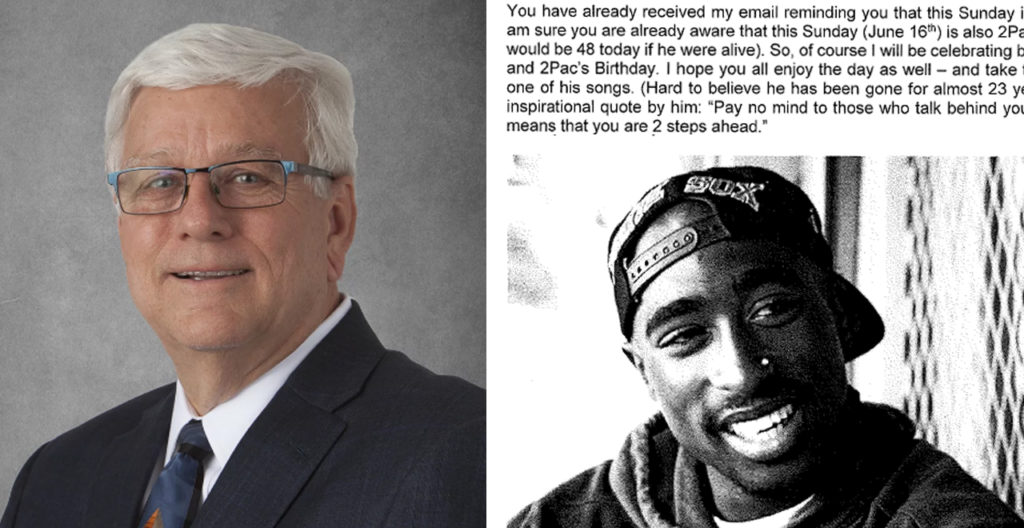Jerry Foxhoven, Tupac Fan