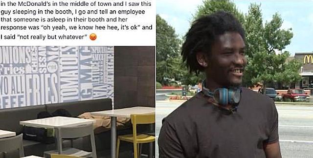 Community Rallies Around Homeless Dad