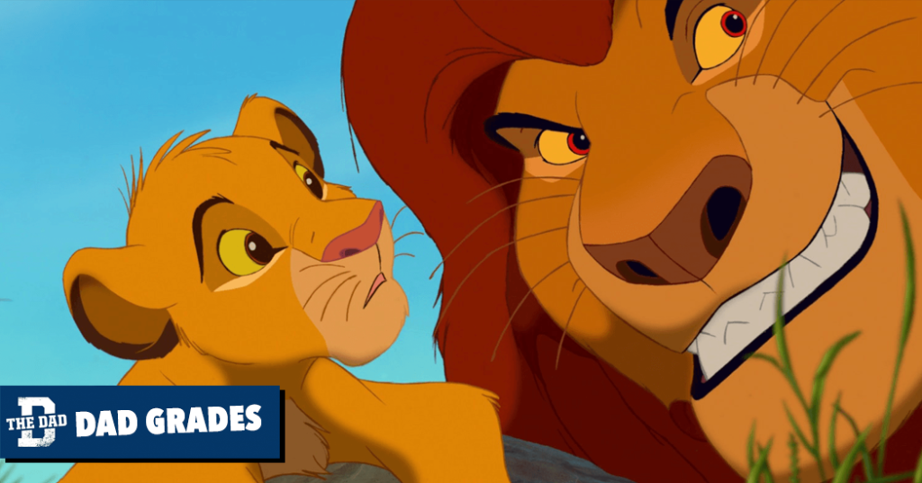 Dad Grades: Mufasa From The Lion King