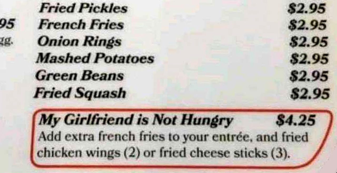 Sides for Girlfriends Who Aren't Hungry