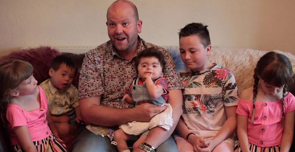 Super Dad Adopts 5th Disabled Child