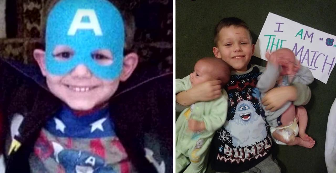 Superhero Michael Demasi Jr. Donates Marrow
