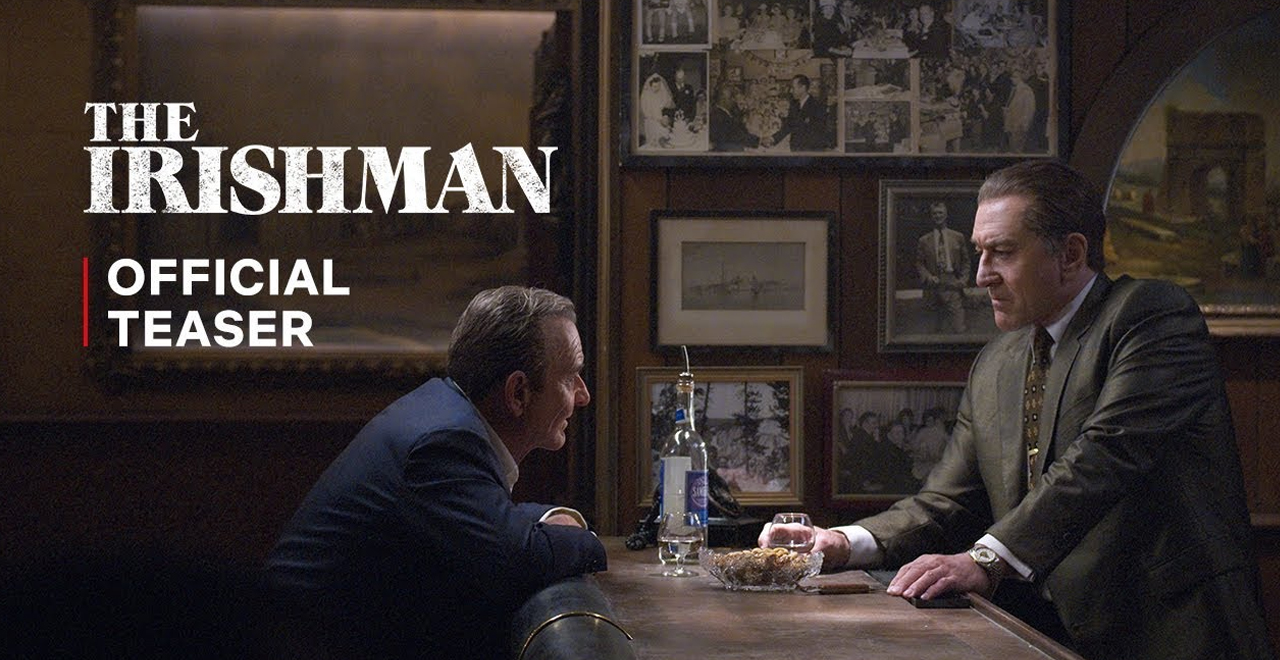The Irishman Official Teaser