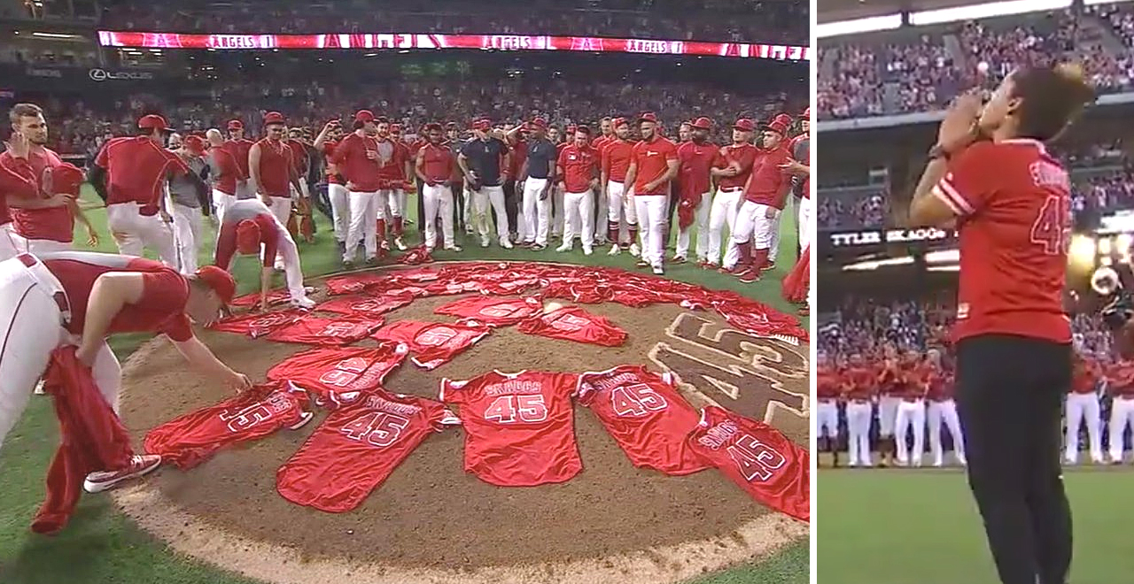Angels Honor Tyler Skaggs