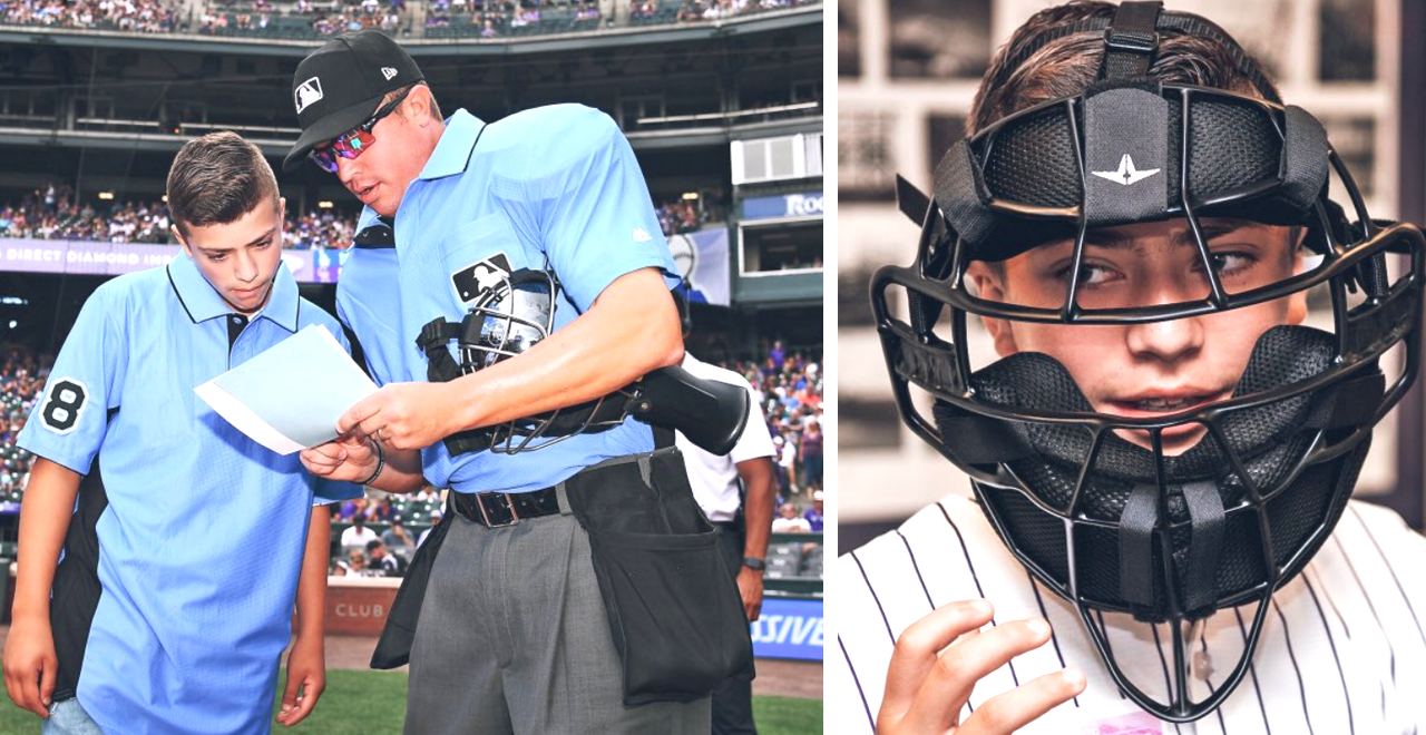 Teen Ump at Coors Field