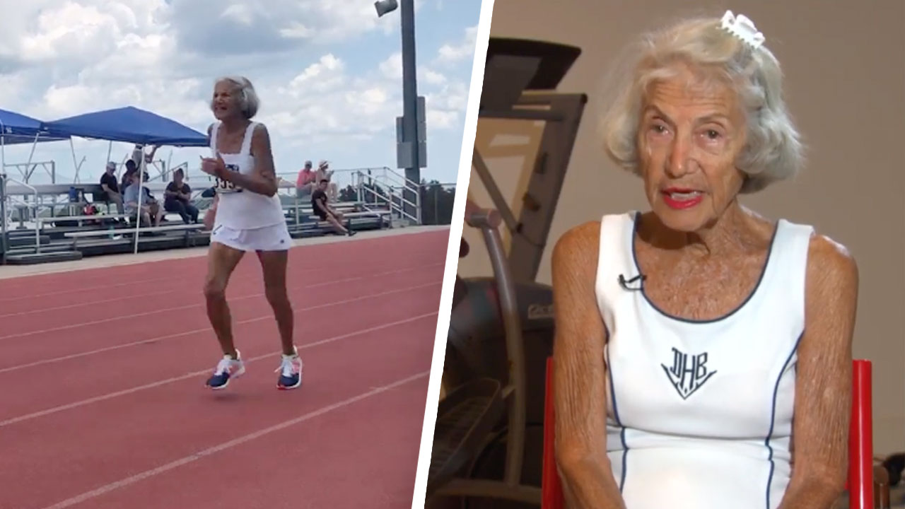 Diane Hoffman Sets World Record