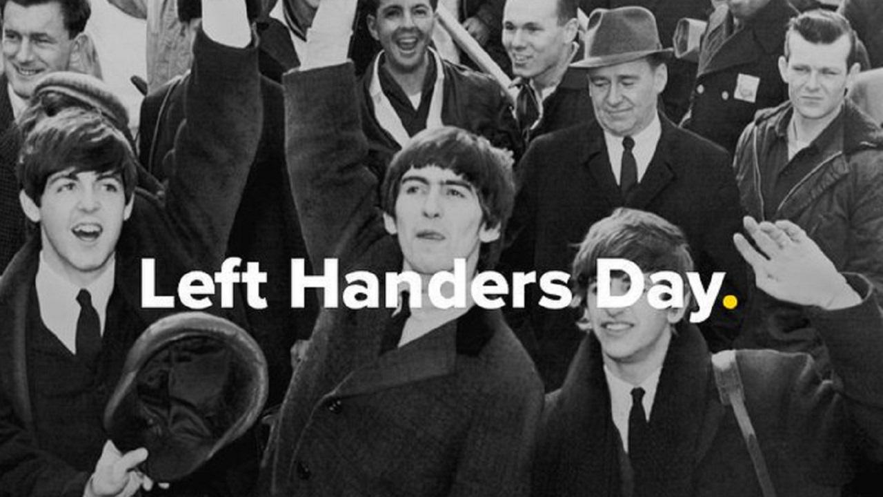 International Lefthanders Day on Twitter